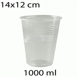50 vasos desechables transparentes 1000ml