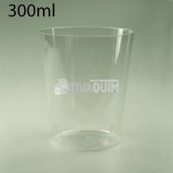 600 Vasos caña PS 300ml transparentes