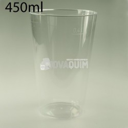 400 vasos combi PS 450ml transparentes