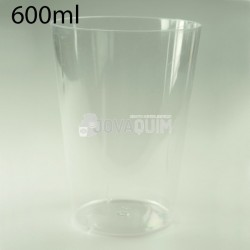 300 Vasos sidra PS 600ml transparentes