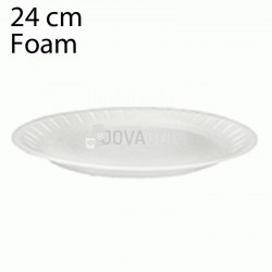 100 Platos desechables foam 240mm