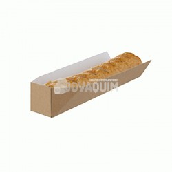 1000 Soporte hot-dog kraft