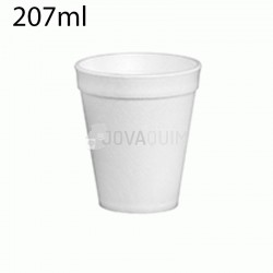 40 vasos térmicos foam 207ml 7oz