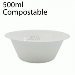 500 Bowl biodegradables 500ml
