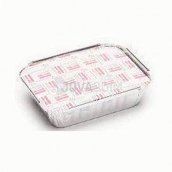 500 tapas envases rectangular 360ml
