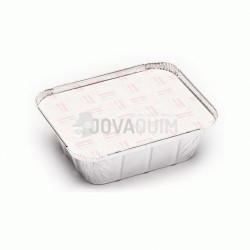 600 tapas envases rectangular 475ml