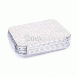 25 envases y tapas rectangulares 2400ml