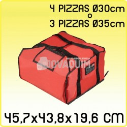 Bolsa transporte pizza mediana